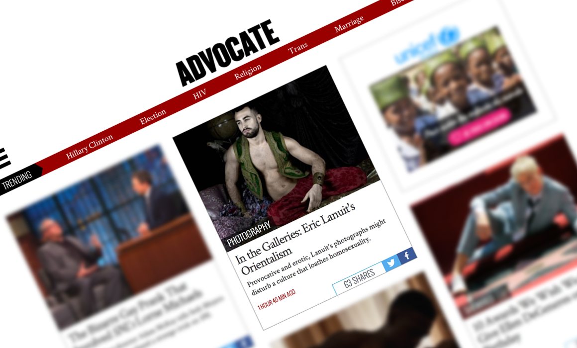 Advocate Orientalisme by Eric Lanuit