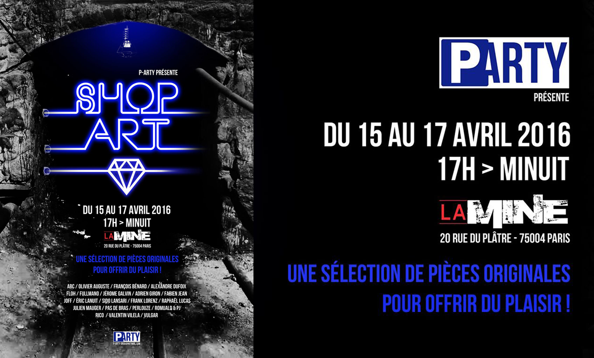 Shop'Art 3 by P-Arty