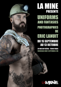 Uniforms and Fantasies by Eric Lanuit Affiche Exposition