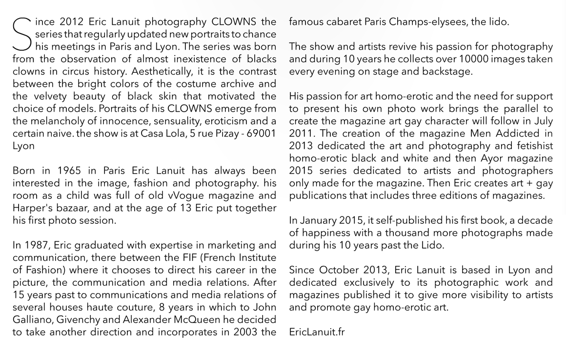 Sattelite Magazine Clowns by Eric Lanuit 3