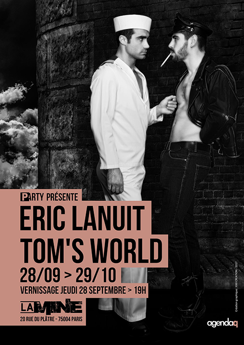 Affiche 2 Tom's World by Eric Lanuit - P-Arty
