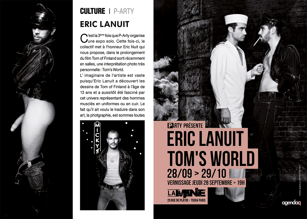 AgendaQ 2 Tom's World by Eric Lanuit
