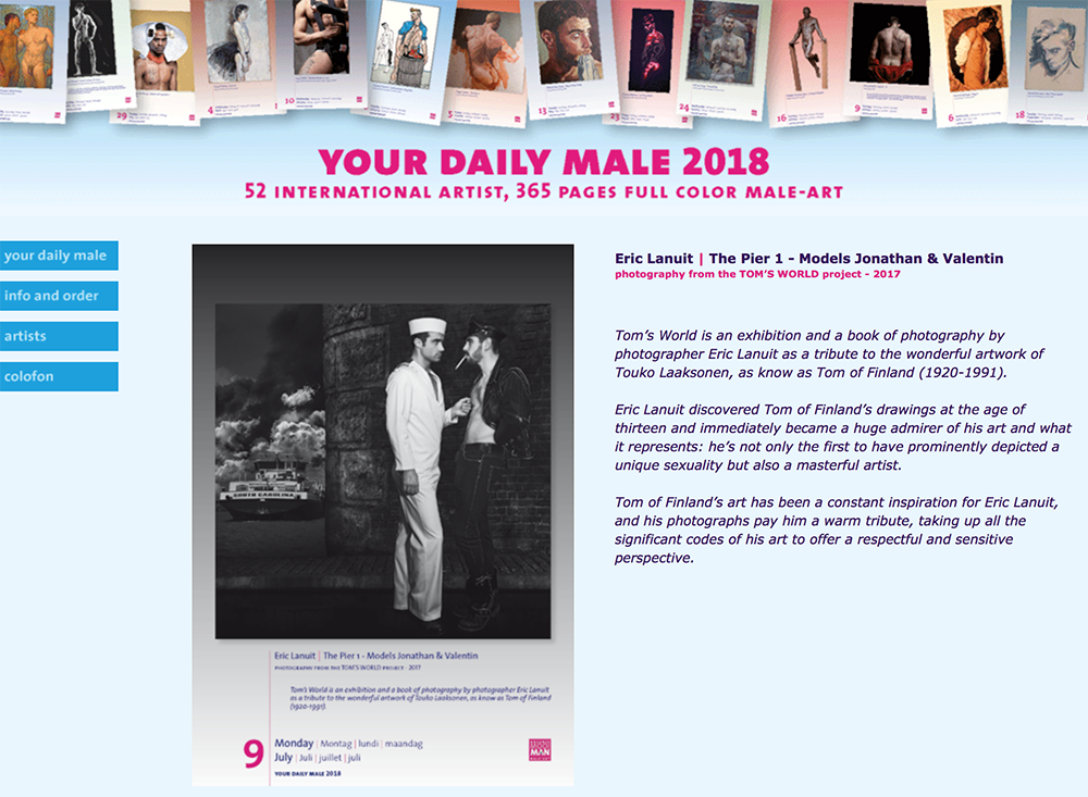 Your Daily Male 2018 2